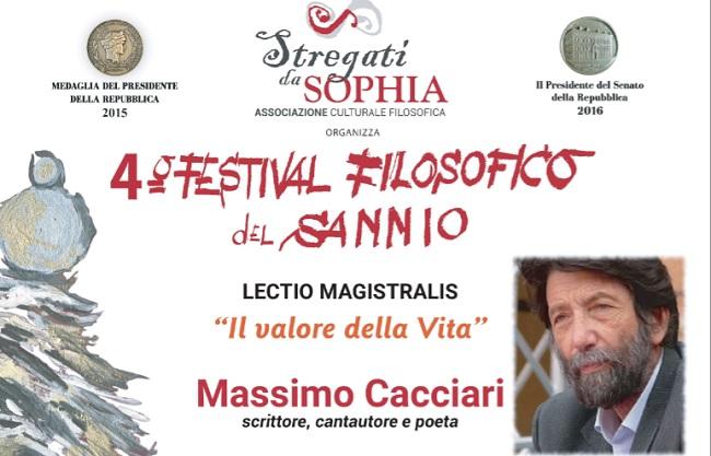 """""""Stregati da Sophia"""": il 21 e 22 Marzo gli ultimi due incontri del 4° Festival Filosofico del Sannio."""