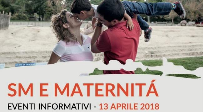 """AISM: incontro informativo su """"Sclerosi Multipla e maternità"""""""