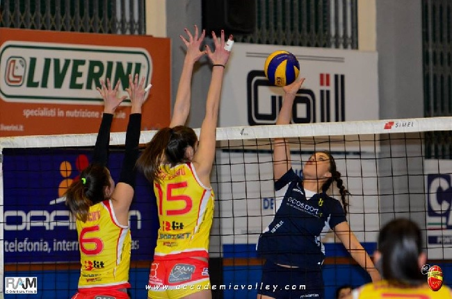 Accademia Volley. Domani match decisivo: in palio la salvezza