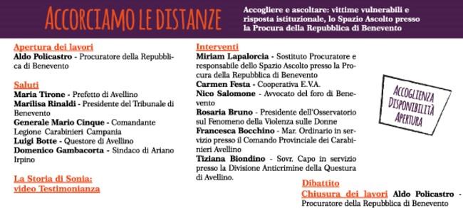 Procura della Repubblica, il 19 Aprile presentazione dello Spazio Ascolto ad Ariano Irpino