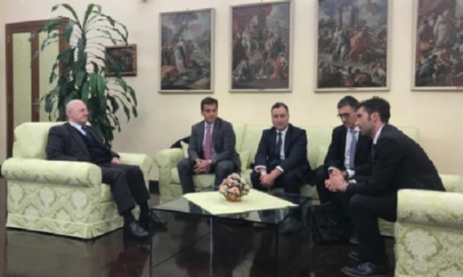 Mortaruolo e De Luca incontrano la Fondazione Maugeri