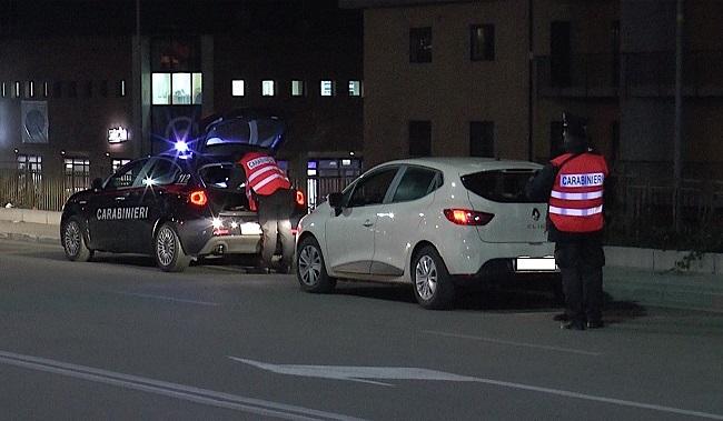 Controlli Carabinieri. Otto persone denunciate, tre segnalate come assuntori si stupefacenti e 7 F.V.O. per pregiudicati