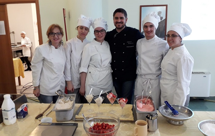 """Benevento,""""Le Steghe"""" alla scoperta del gelato artigianale – Concluso con successo il corso di formazione"""