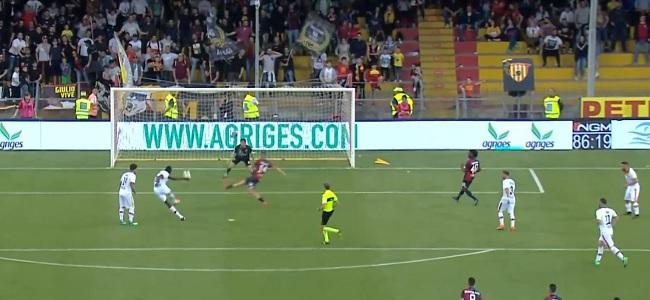 Il Genoa infiamma la partita ed il Benevento la vince. Benevento 1 Genoa 0