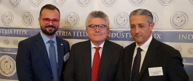 Oggi Prima Edizione di Industria Felix. Premiate 9 aziende Beneventane.