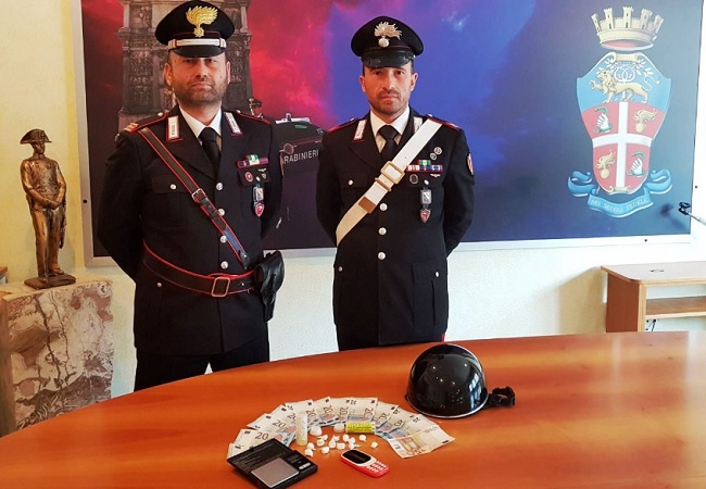 Benevento, arrestato un 50enne in possesso di cocaina.