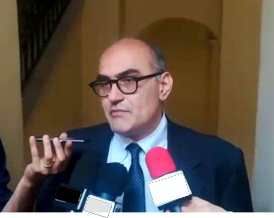 """Sguera al PD e al M5S. Amici, non questi toni: invito all'armistizio politico """"pro salute rei publicae"""""""
