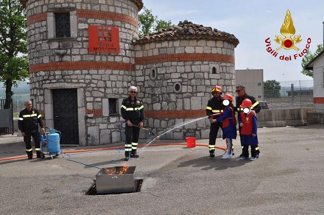 VVF di Benevento. Giornate di promozione della cultura della sicurezza