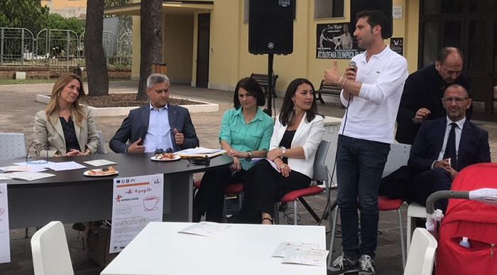 """Intervento di Erasmo Mortaruolo alla presentazione del progetto """"Women@Work""""."""