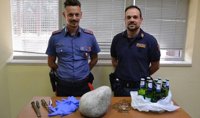 Benevento: Polizia e Carabinieri arrestano i ladri dei bar
