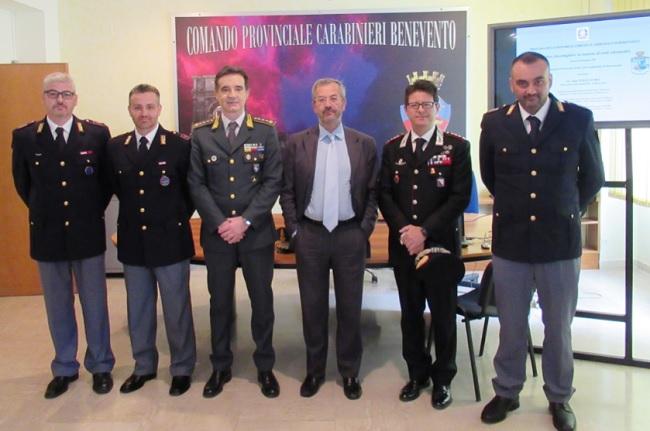 Benevento seminario dei Carabinieri e Guardia di Finanza sui reati di Natura Informatica.
