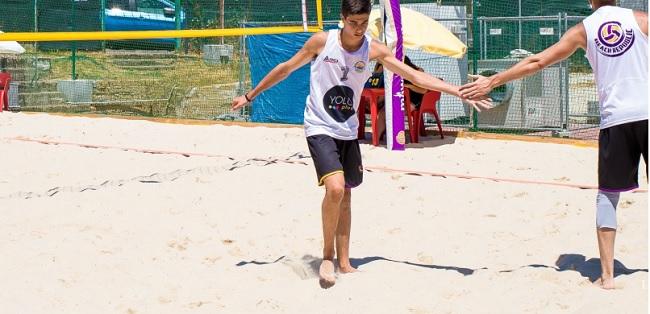 Fiocco azzurro in casa Beach Republic.Il giovane Filippo Fusco convocato per un collegiale con la nazionale juniores.