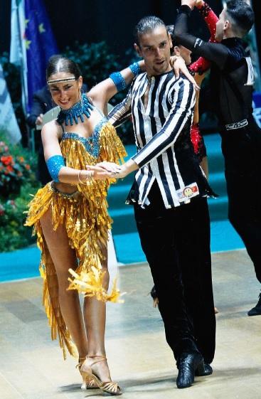 Danza sportiva a Rimini: successo per Eleonora e Francesco Forgione