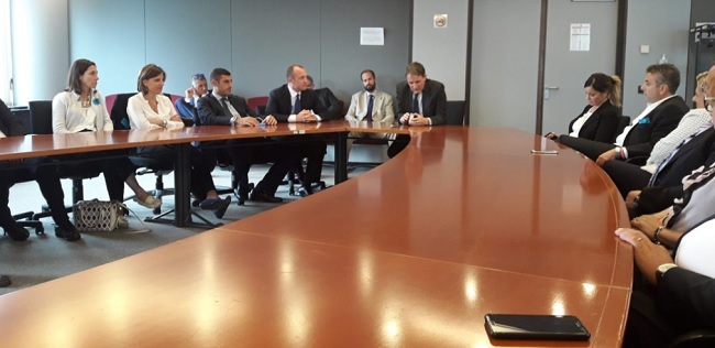 Delegata unifortunato a bruxelles.Nuovi sviluppi per l'ateneo telematico in campo europeo.