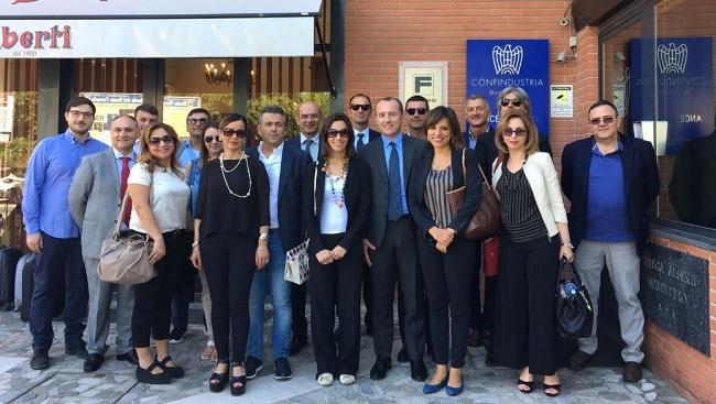 Missione Bruxelles. Delegazione di imprenditori di Confindustria Benevento all'UE.
