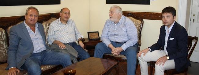 Ricci incontra i sindaci di San Nicola Manfredi e  Paolisi.