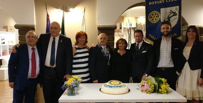 Rotary Club Valle Telesina Nicola Venditti nuovo presidente per l'anno 2018/2019