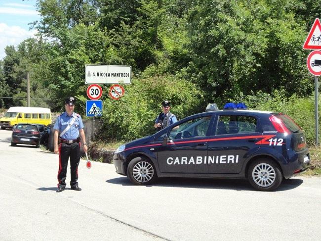 San Nicola Manfredi. Arrestato dai Carabinieri detenuto agli arresti domiciliari di Apice.