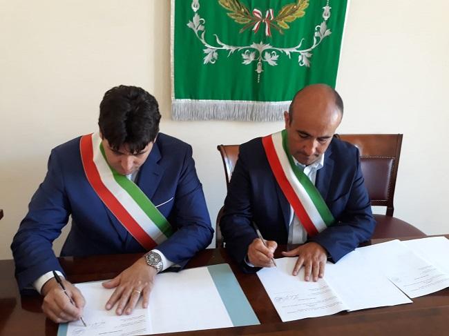 Airola-San Martino V.C. . Polizia municipale, sottoscritta la convenzione