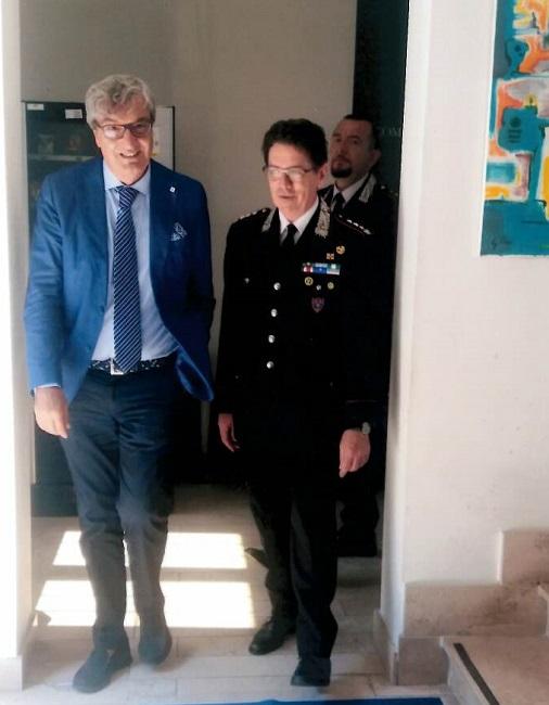 Visita del Prefetto di Benevento al Gruppo Carabinieri Forestali