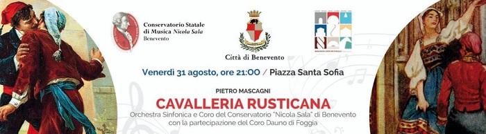 """Questa sera """"Cavalleria Rusticana"""" realizzata dal Conservatorio di Musica «Nicola Sala» per Benevento Città Spettacolo 2018."""
