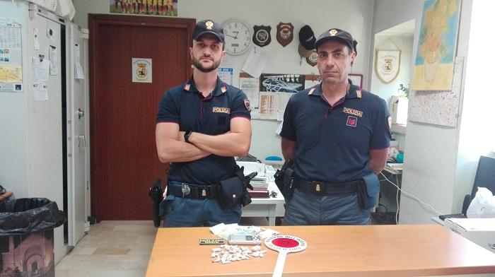 Benevento. Droga nel deposito del bar: 3 arrestati dalla Polizia