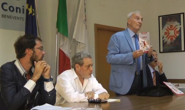 Presentato al Coni di Benevento l'Almanacco del Calcio Sannita