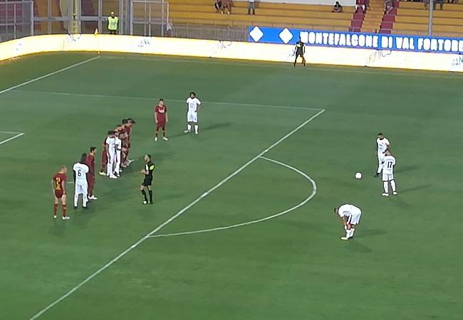 Per l'89° compleanno il Benevento si regala una vittoria di prestigio. Benevento 2 Roma 1