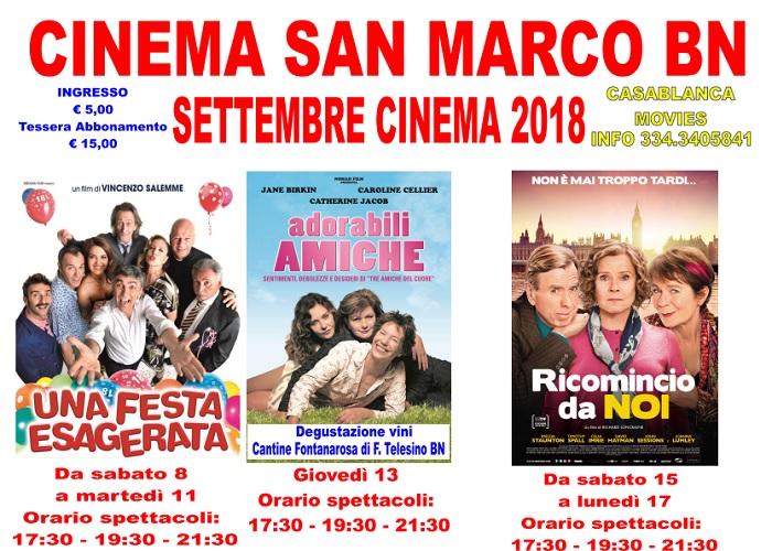 Il Cinema San Marco riapre i battenti, con un cartellone ricco e di ottimo livello.