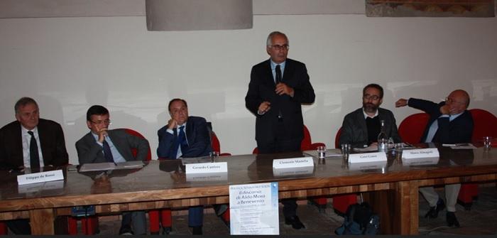 Unisannio. Politica situazioni e scelte: il discorso di Aldo Moro a Benevento.