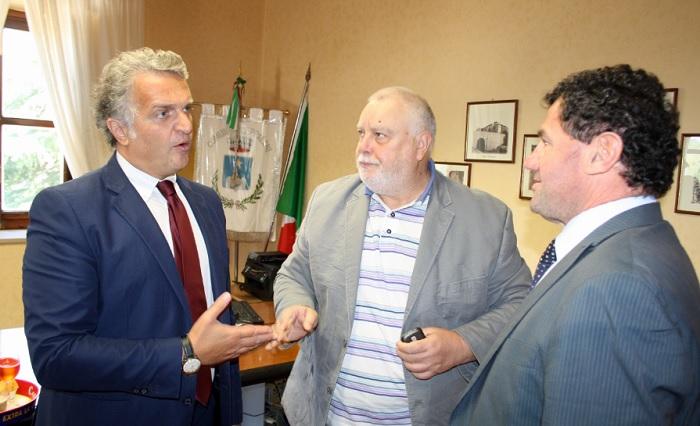 Ricci incontra il sindaco di Ceppaloni e il Consigliere Provinciale.