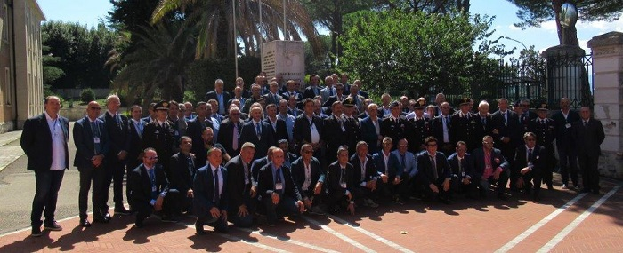 Benevento: raduno degli ex allievi carabinieri ausiliari nel trentennale del 140° corso.