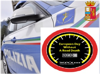 "Polizia. Campagna TISPOL ""EDWARD"" (A European Day Without a Road Death)"