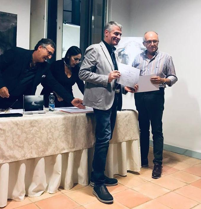 Pietrelcina. Angelo Masone premiato alla III^ Edizione della Biennale d'Arte Contemporanea di Salerno