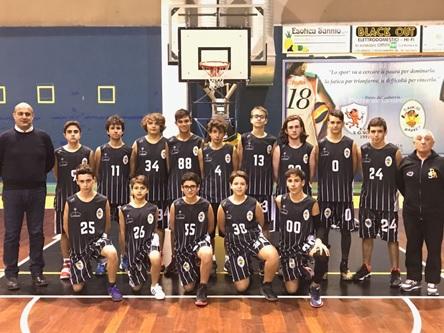 Edil Appia Basket Sant'Agnese: l'Under 18 vince e consolida il secondo posto in classifica.