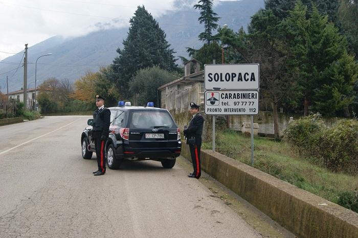 Solopaca: minaccia la sua ex convivente. Arrestato dai Carabinieri per Violenza Privata e Minaccia.