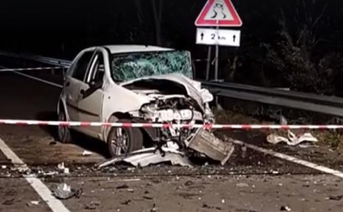 Morcone: tragico incidente stradale.Mu ore un 30enne.