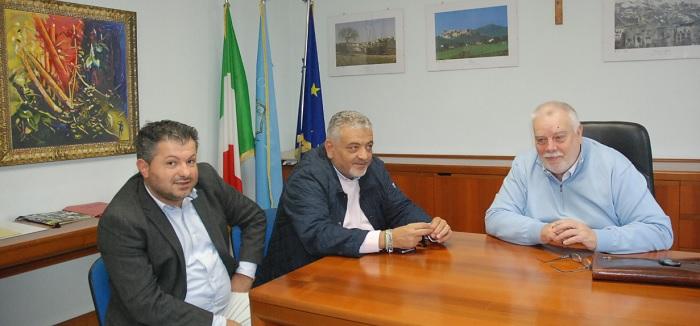 Claudio Ricci, ha incontrato stamani i Sindaci di Bucciano e Bonea.