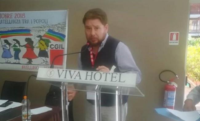 Luciano Valle eletto segretario della Cgil di Avellino/Benevento