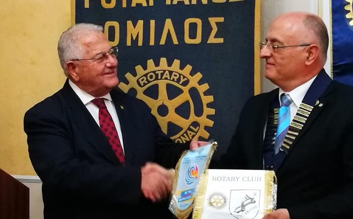 Rotary Club Thessaloniki accoglie la delegazione del Rotary Club Valle Telesina.