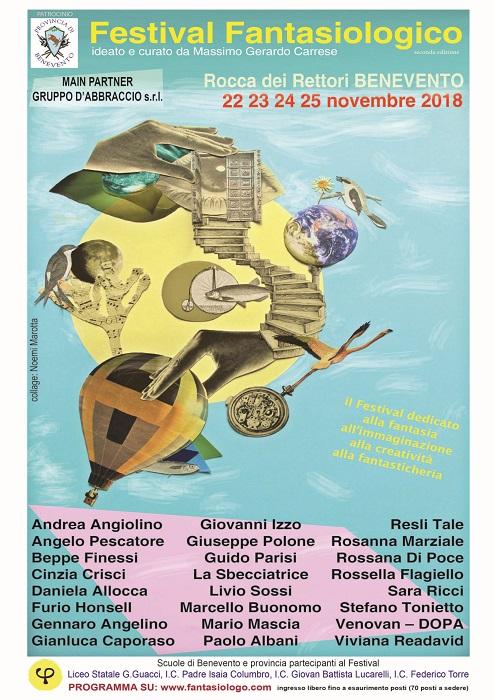 A Benevento il Festival della Fantasiologia