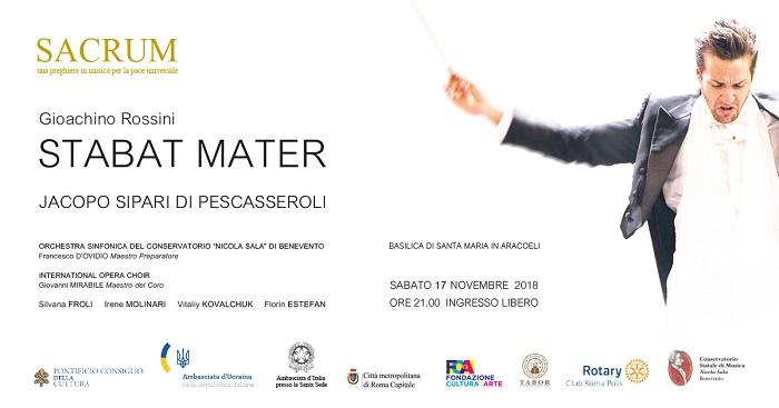 """L'Orchestra Sinfonica del Conservatorio Nicola Sala di Benevento a Roma per """"Sacrum 2018"""""""