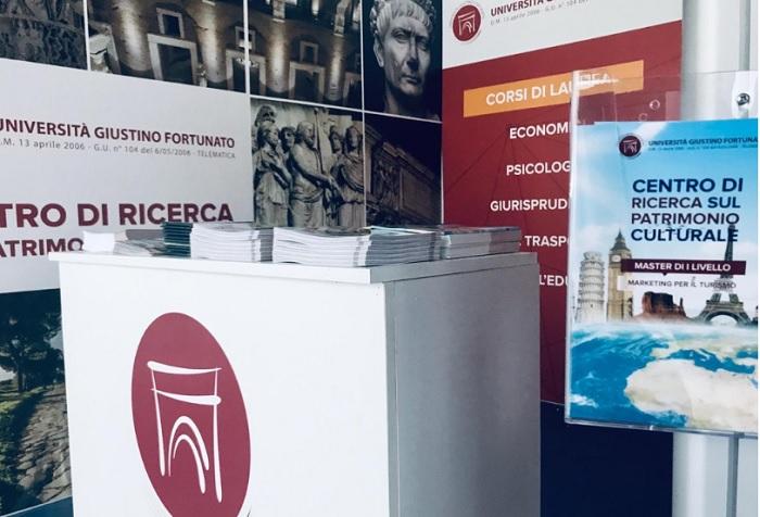 L'Unifortunato alla Borsa Mediterranea del Turismo Archeologico di Paestum.