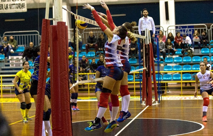 Primo sorriso per la Bra.Ti Formazione SG Volley.Roboante successo casalingo della Bra.Ti Formazione Sg Volley di San Giorgio del Sannio.