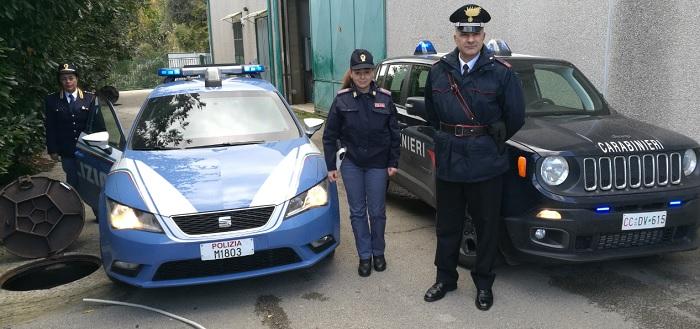 Polizia di Stato e Carabinieri bloccano a Solopaca un cittadino rumeno.Si era reso responsabile di furto pluriaggravato.