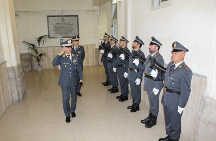 Benevento, Guardia di Finanza, il Comandante Regionale Pomponi in visita a Benevento