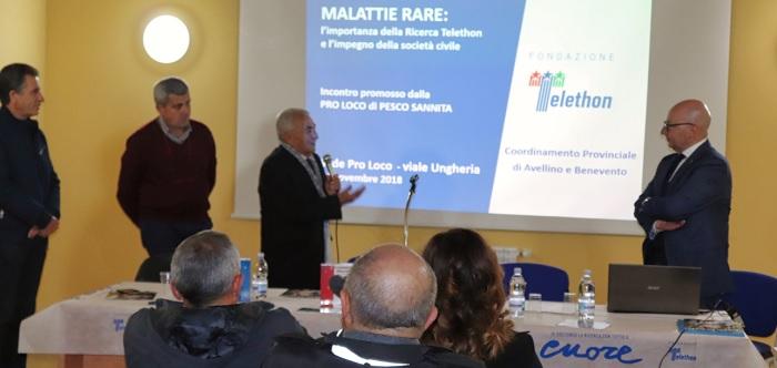A Pesco Sannita Convegno Malattie Rare: grandi emozioni e partecipazione di pubblico