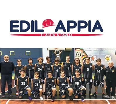 L'Edil Appia basket Sant'Agnese torna al successo battendo Sant'Antimo 82 a 61
