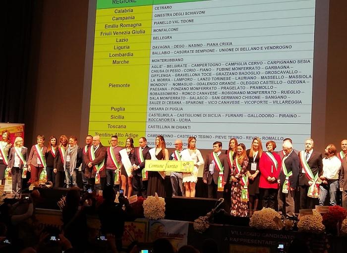 Ginestra degli Schiavoni premiata all'edizione 2018 del Concorso Nazionale Comuni Fioriti.