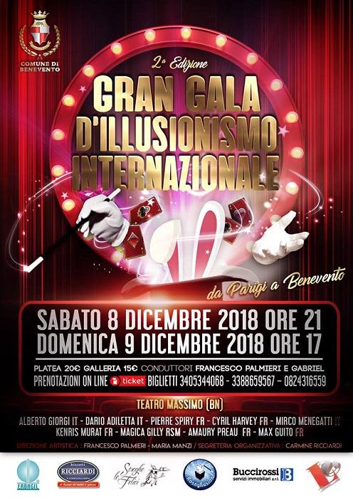 Il Gran Gala D Illusionismo Internazionale Giovedi 8 Novembre La Presentazione Infosannionews It
